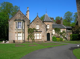 Dower house - The Dower House at Dean Castle in Kilmarnock, Ayrshire