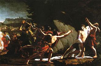 Gaius Gracchus - The Death of Gaius Gracchus, by François Topino-Lebrun, 1792.