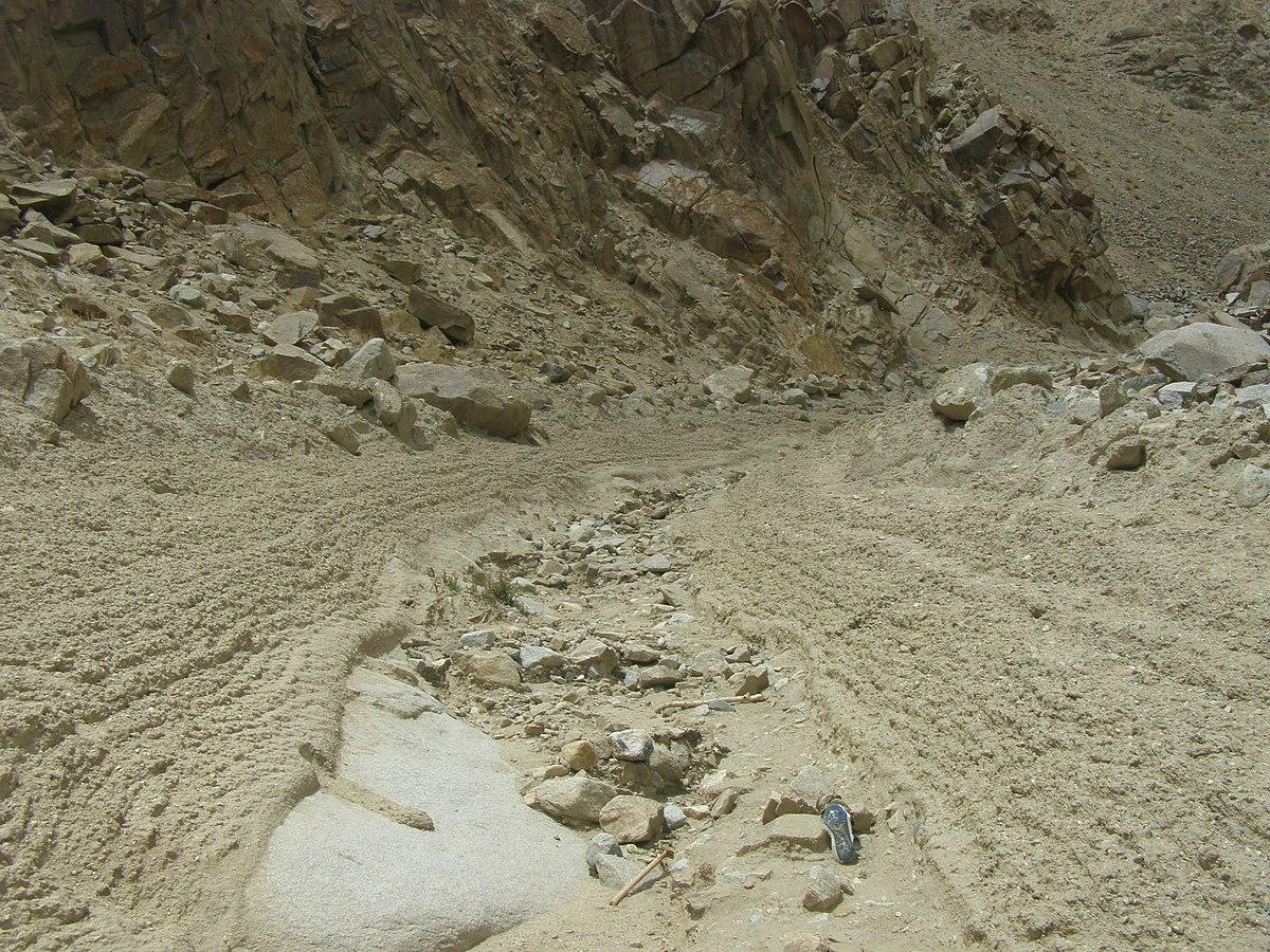 Debris flow wikipedia for Rocks and soil wikipedia