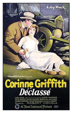 Déclassée - 1925 lobby poster