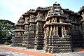 Decorated outer walls Hoysaleswara Temple Halebid (4).jpg