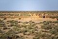 Deire Gachin Caravansarai - Sasanian dating - Iran. Qom Province - Dayr-e Gachin 42.jpg
