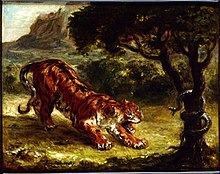 Rousseau Tiger in a Tropical Storm