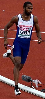 Delano Williams Sprint athlete from the Turks and Caicos Islands