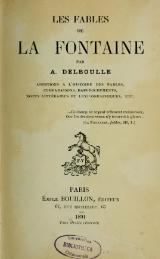 Livre Delboulle Les Fables De La Fontaine 1891 Djvu