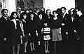 Delegation, headed by Professor G. Akhatov, at a meeting with the family of the poet M. Jalil (1970).jpeg