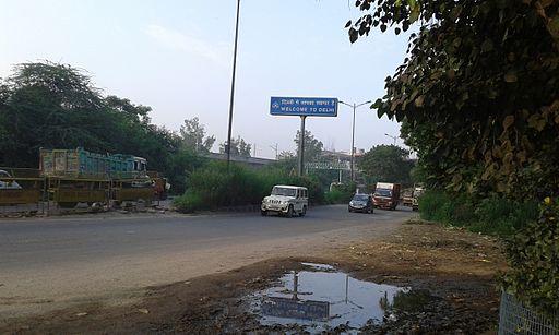 Delhi Noida Border