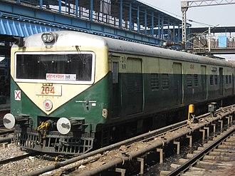 Delhi Suburban Railway - Image: Delhi emu 01