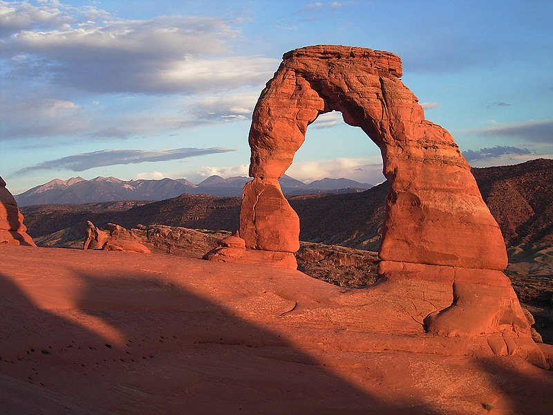 File:Delicate arch sunset.jpg