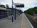Denham station westbound platform look east2.JPG