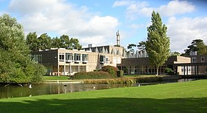 Colleges of the University of York - Derwent College one of the two original colleges founded in 1965.