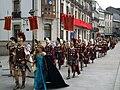 Desfile polas rúas da cidade (Praza Maior).JPG
