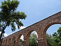 Detail of Acueduct - Morelia - Michoacan - Mexico (20470904776).jpg