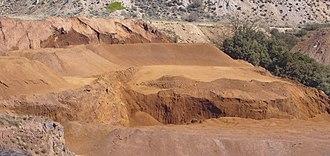 Sierra Menera - Open-pit mining of iron ore in Sierra Menera