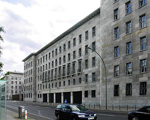 Ernst Sagebiel - The former Reich Air Ministry building, which now houses the German Finance Ministry