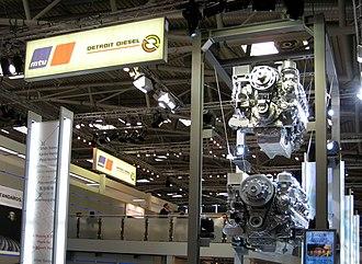 MTU Friedrichshafen - Image: Detroit Diesel bauma 2007