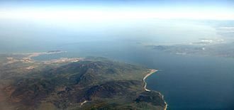Strait of Gibraltar - Europe (left) and Africa (right)