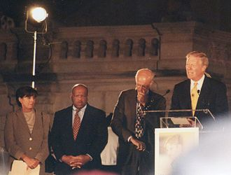 Dick Gephardt - Gephardt speaking at a vigil for Matthew Shepard in 1998