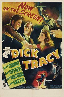 Dick tracy cobres y gangsters