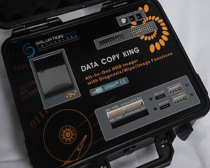 Forensic disk controller - Example of a portable disk imaging device