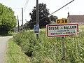 Dissé-sous-Ballon (Sarthe) entrée.jpg