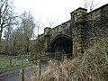Disused railway bridge, Castle Semple - geograph.org.uk - 677623.jpg