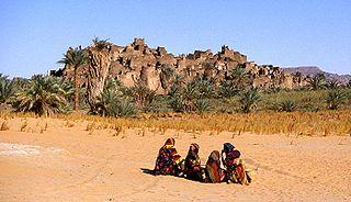 Djado Plateau mountain range in Niger