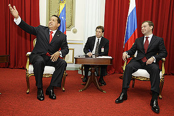 Dmitry Medvedev in Venezuela 27 November 2008-4