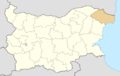 Dobrich Province Location map.png