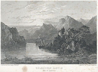 Dolbadern Castle, vale of Llanberis