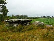 Dolmen da Pedra da Arca, Olveira, Dumbría