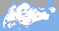 Location of Dover