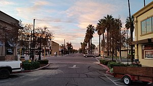 Downtown Hemet - Harvard St at Florida Ave - Sunrise.jpg
