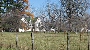 Union Township, Rush County, Indiana - Buildings at the Arnold Farm, a historic site in the township