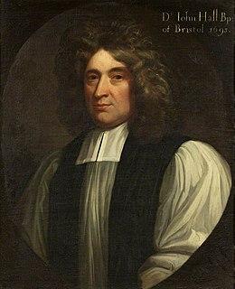 John Hall (bishop) British bishop (1633–1710)