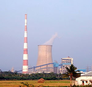 Dr Narla Tata Rao Thermal Power Station in January 2015.JPG