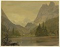 Drawing, Alpine Lake, Bavaria or Switzerland, 1868 (CH 18196673).jpg