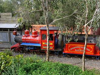 Dreamworld Express - Image: Dreamworld Railway