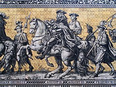 Between the years 1697 and 1763 the Electors of Saxony also were elected Kings of Poland in personal union.