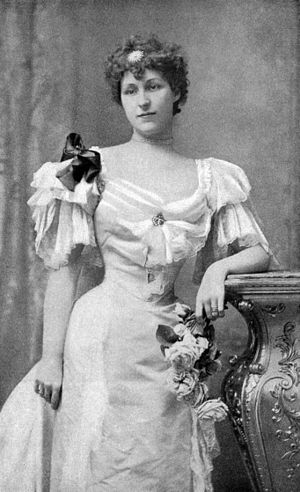 Elizabeth Wharton Drexel - Photograph of Drexel in 1899