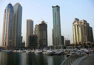 Emirates Crown tower block