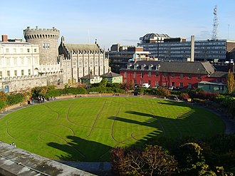 History of Dublin to 795 - The original site of the black pool from which Dublin takes its name