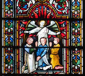 Daniel in rabbinic literature - Shadrach, Meshach, and Abednego, Christ Church Cathedral, Dublin