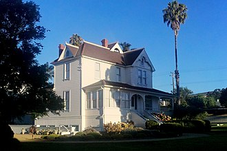 Dudley House (Ventura, California) - Image: Dudley House from Southeast