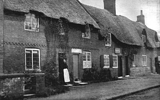 Duffield, Derbyshire - Cottages in Tamworth Street (c. 1900)