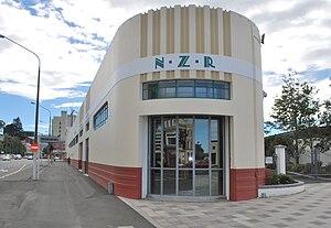 New Zealand Railways Road Services - New Zealand Railways Road Services depot in Dunedin