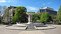 Dupont Circle fountain - facing southwest.JPG