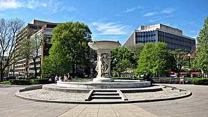 Dupont Circle - The Dupont Circle Fountain in 2010.