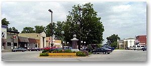 Durand, Illinois - Downtown Durand