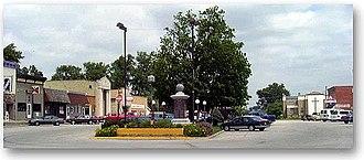 Durand, Illinois - Downtown Durand